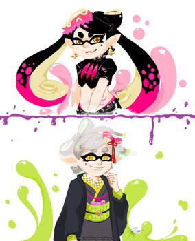 Squid Sisters By Holylilium