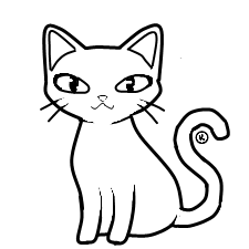 Cat Outline Free To Use 317966374