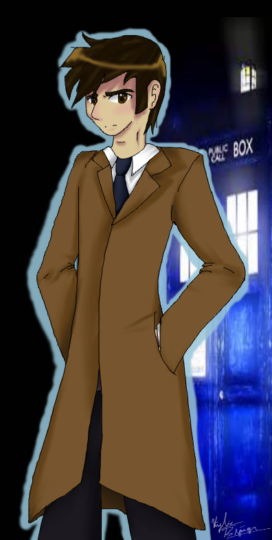 David Tennant Doctor who by Honey-PawStep