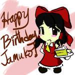 Happy Birthday Jamukooo