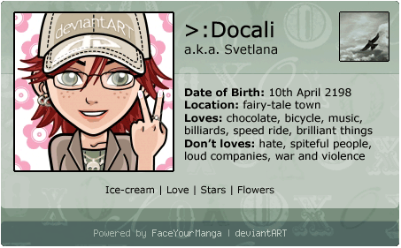 face your manga ID by Docali
