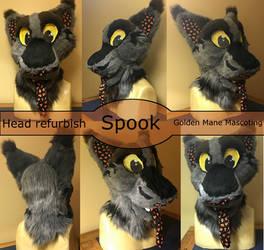 Spook Head Refurb by GoldenManeMascoting