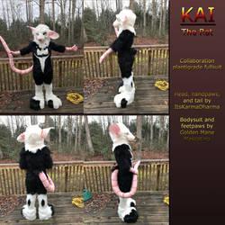 Kai The Rat by GoldenManeMascoting