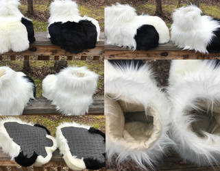 Kai Feetpaws Collage by GoldenManeMascoting