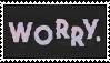 Jeff Rosenstock Worry Stamp by hamslammed