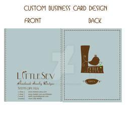 custom business card design