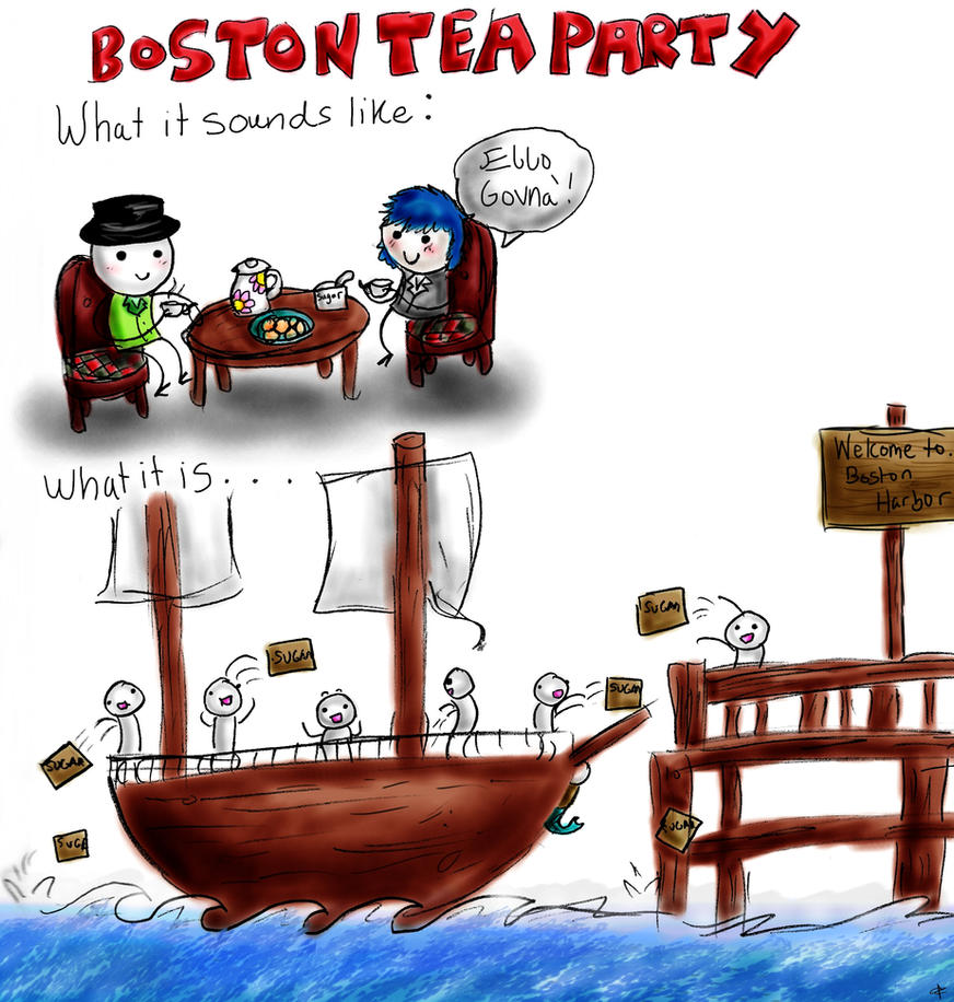 Boston Tea Party Pictures Paintings Painting | Party Invitations Ideas