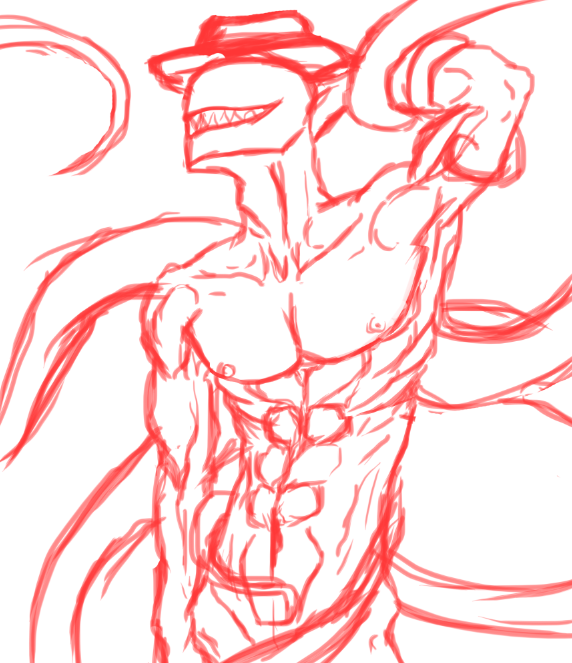 Offenderman Sketch by Ichigowolf1410