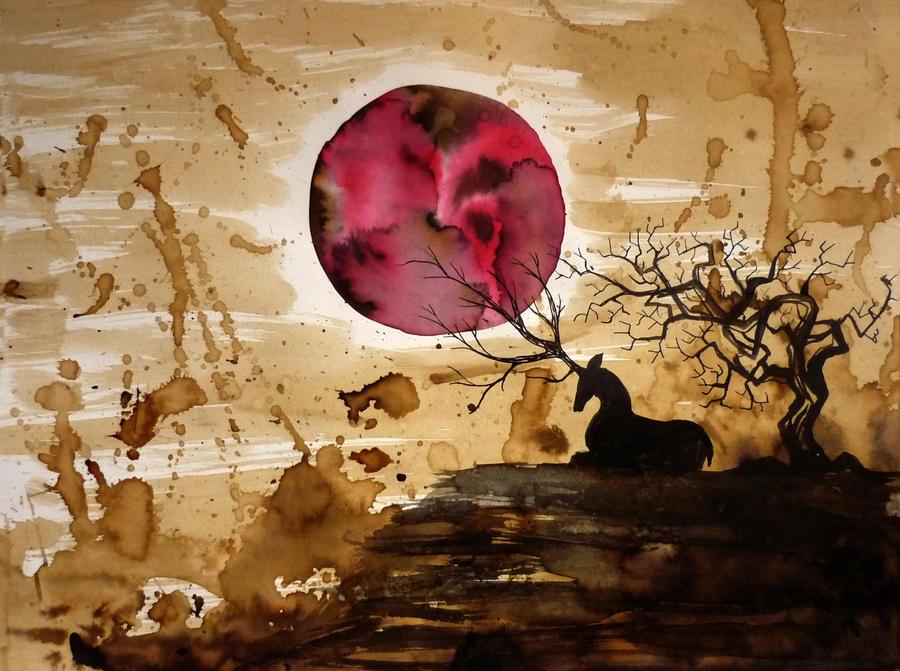 Dear Moon by haflinger-sama