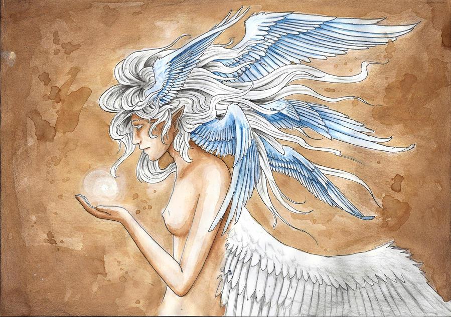 Wind Spirit by haflinger-sama