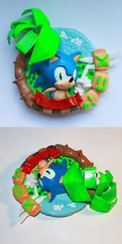 Handmade: Sonic the Hedgehog Magnet