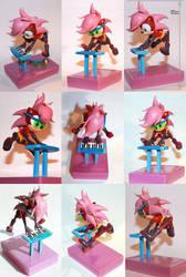 Sonia the Hedgehog Sculpture by vitav