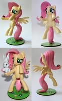 Handmade: Fluttershy Figure by vitav