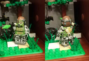 Custom Lego S.T.A.L.K.E.R. minifigure