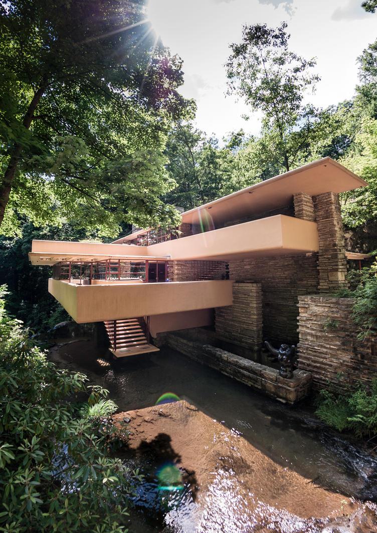 Falling Water - Kaufman House by rubrduk