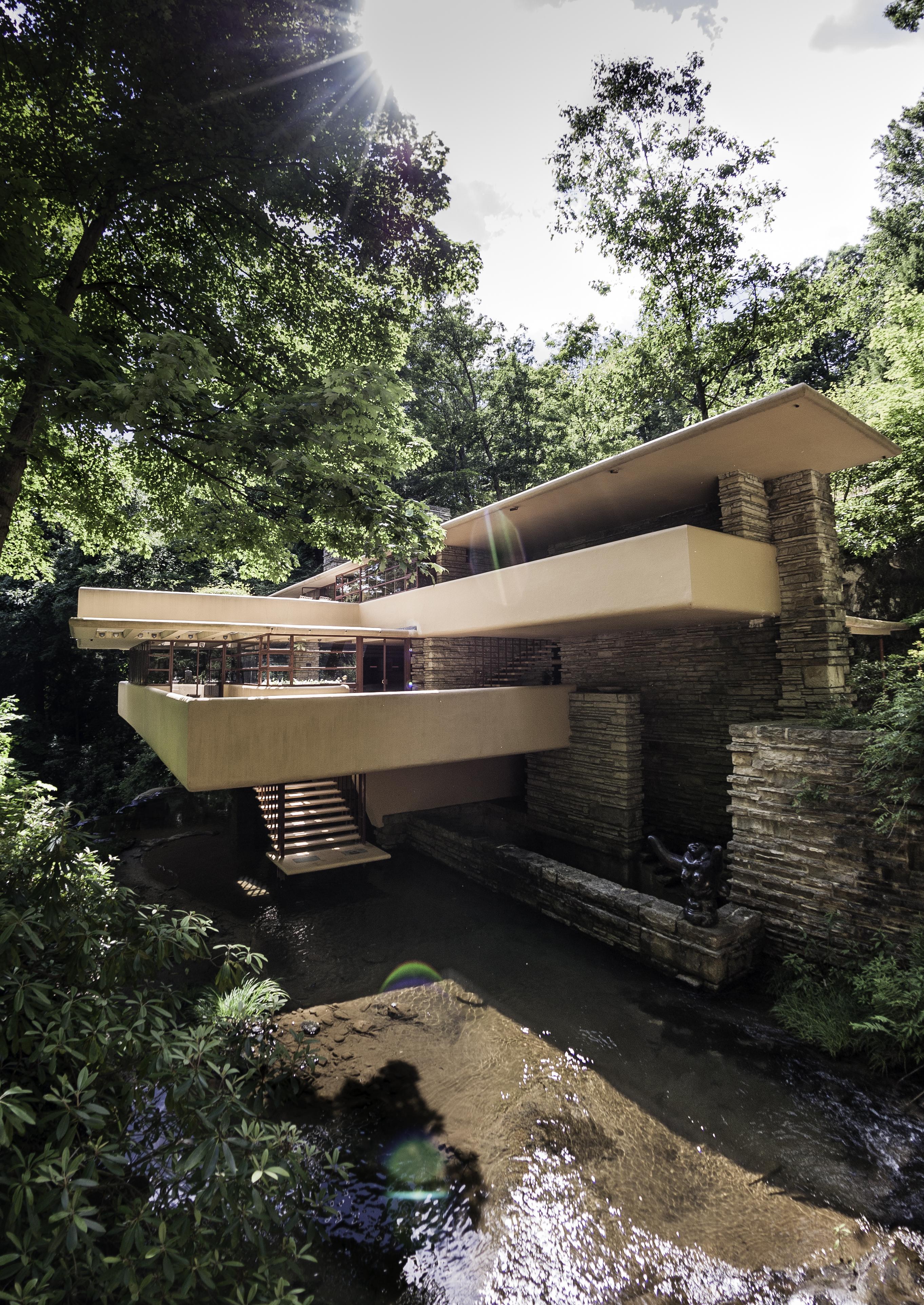 falling water kaufman house by rubrduk on deviantart. Black Bedroom Furniture Sets. Home Design Ideas