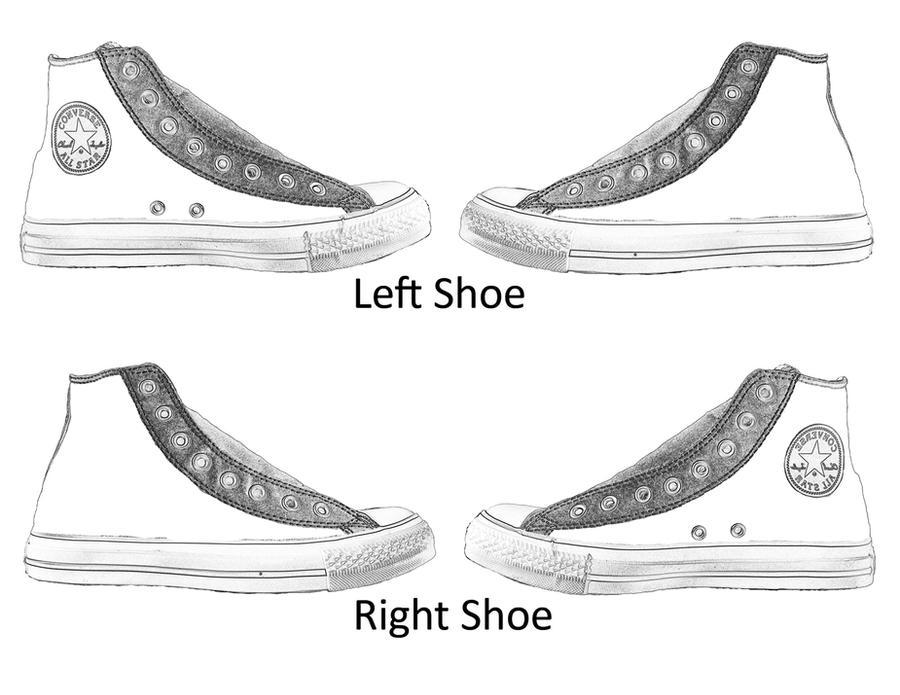 Converse Shoe Template by MastaAzumarek on DeviantArt