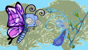 Butterfly Gir