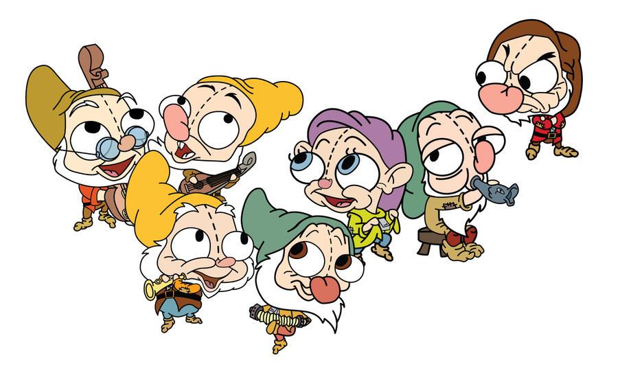 Seven Dwarfs Gir by MastaAzumarek