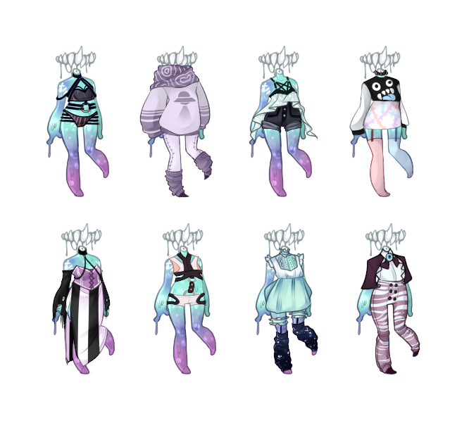 Pastel-Gore Outfits by M1ssNautilus on DeviantArt