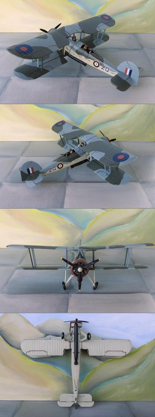 Fairey Swordfish by WKucza