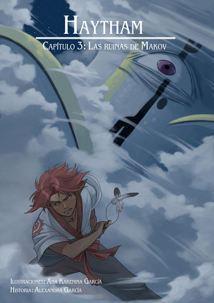Haytham cap3 portada: Las ruinas de Makov by anakareninart
