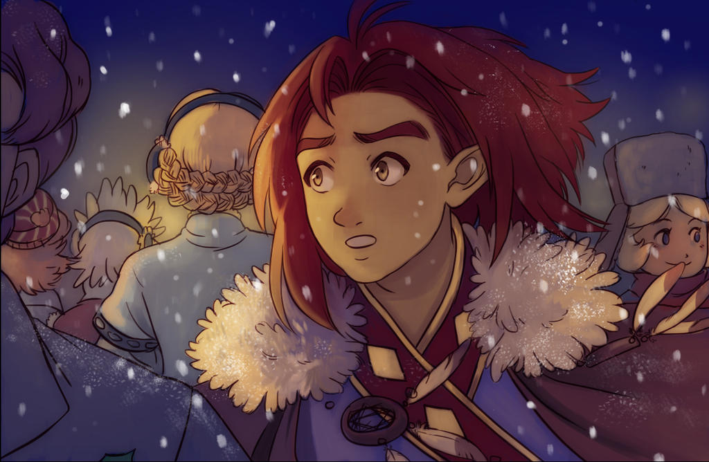 Haytham-winterfest by SoftBluewind