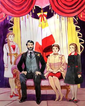 Baldosian Royal Family portrait