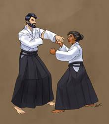 Aikido royal class-sketch for BrossUno