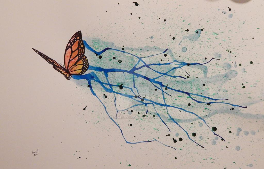 Butterfly Fly Away by RachaelSelk