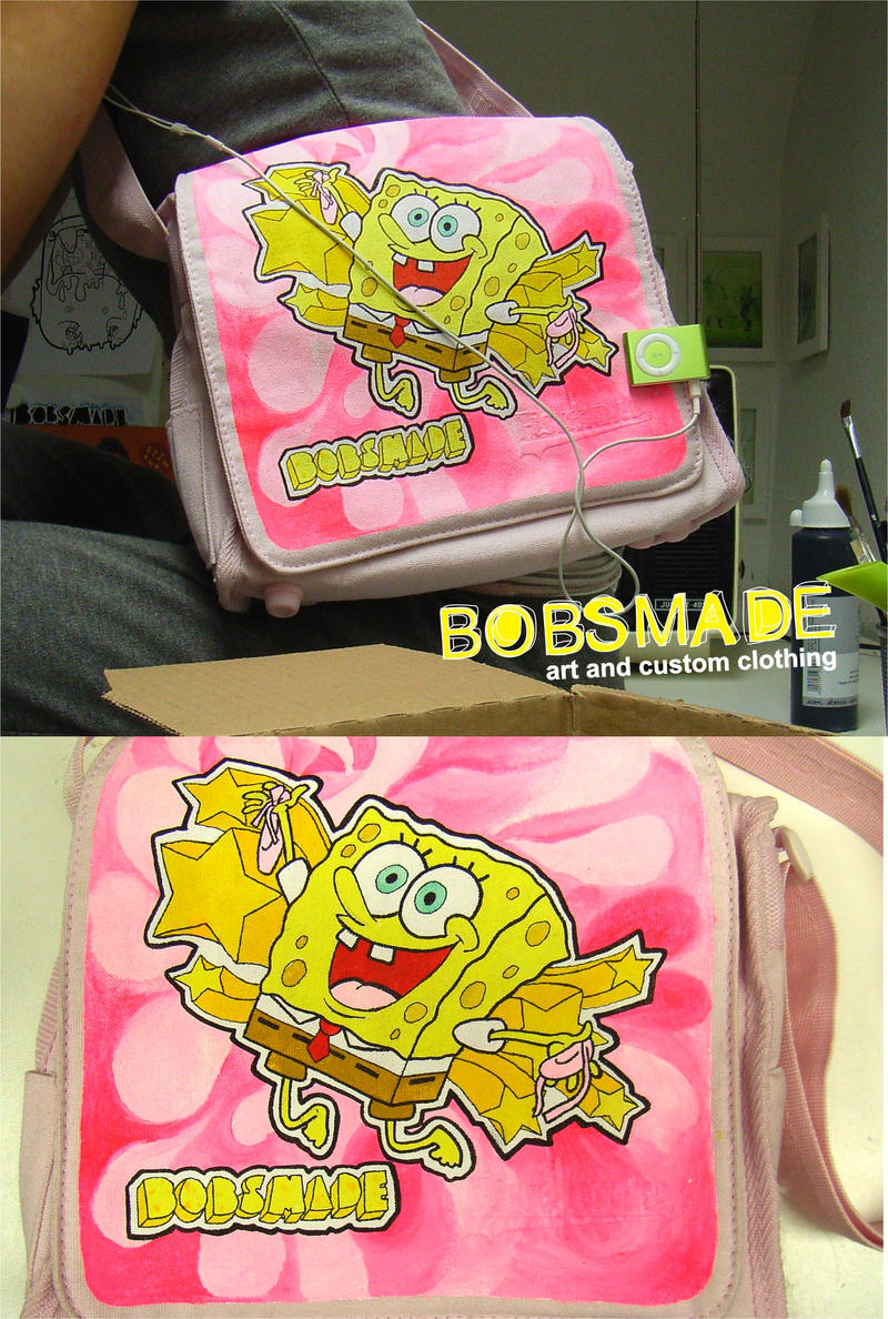 Spongebob bag by Bobsmade
