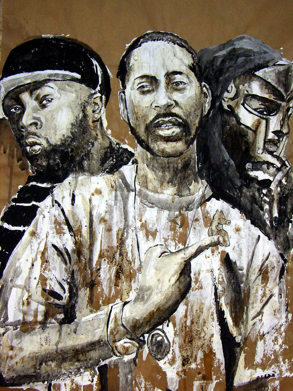 Dilla Madlib Doom and Quas by Bobsmade