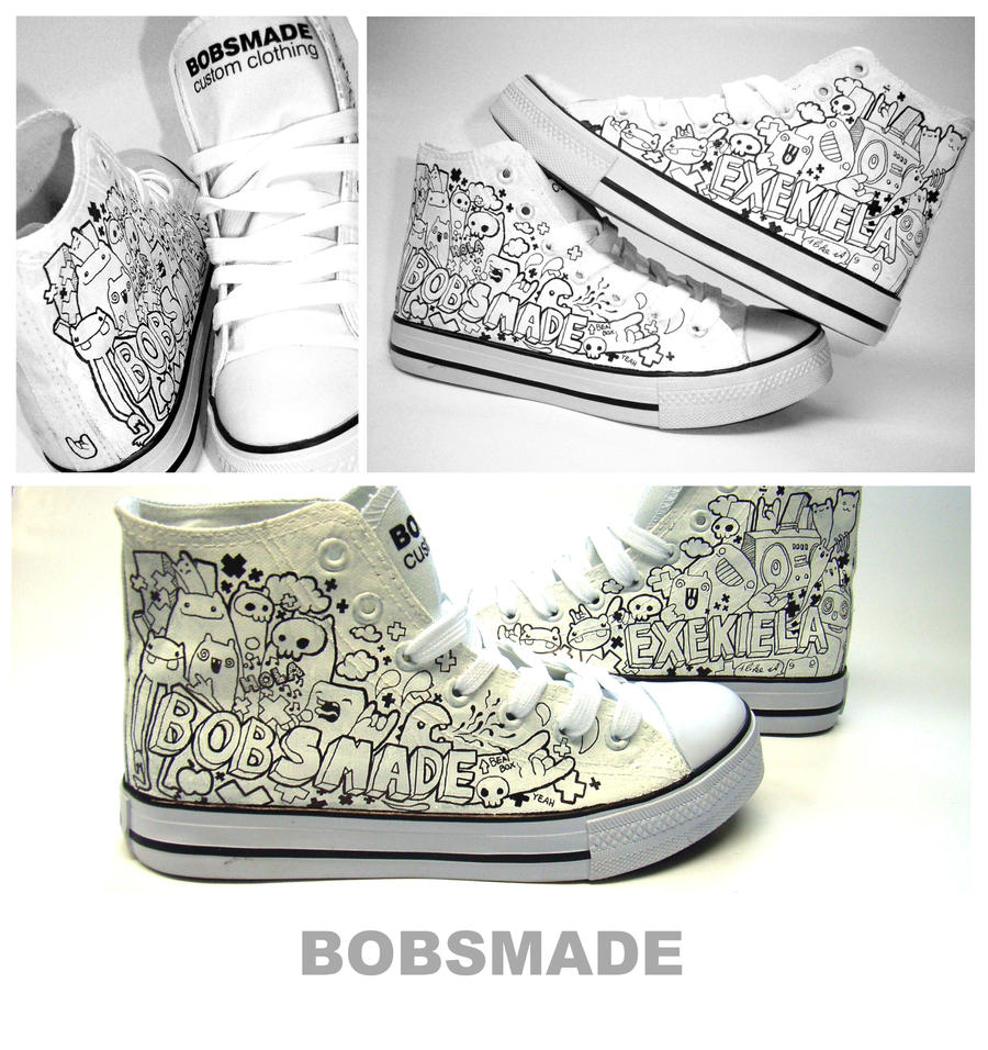 Incredible Custom Shoes Designs | Abduzeedo Design Inspiration