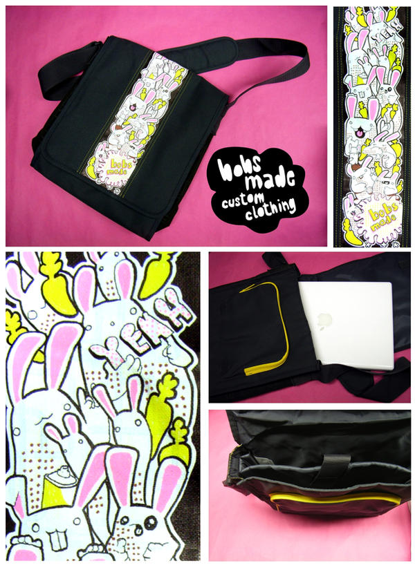 Bunny Bag by Bobsmade