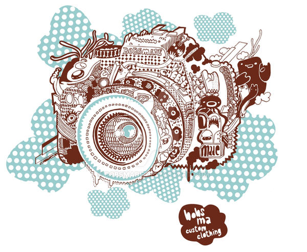 Camera Tee design by Bobsmade