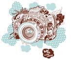 Camera Tee design by Bobsmade