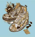 Sneaker tee design edit