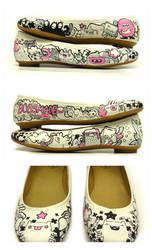 Doodel doo shoes by Bobsmade