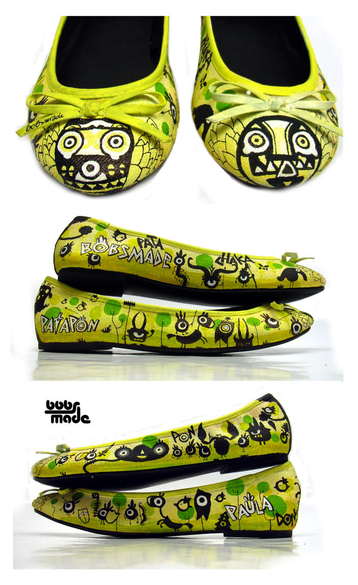 Bobsmade_shoes-Patapon by Bobsmade
