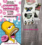 Donuts Championsound flyer