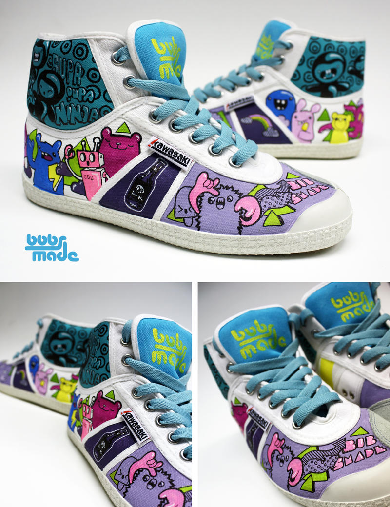 Wo-To Sneaker by Bobsmade