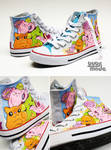 Candy Cat Chucks