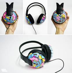 Charlyei Headphones by Bobsmade