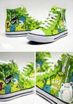 Green Frog Chucks