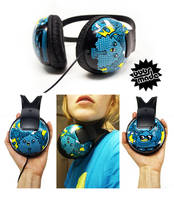 80's headphones by Bobsmade