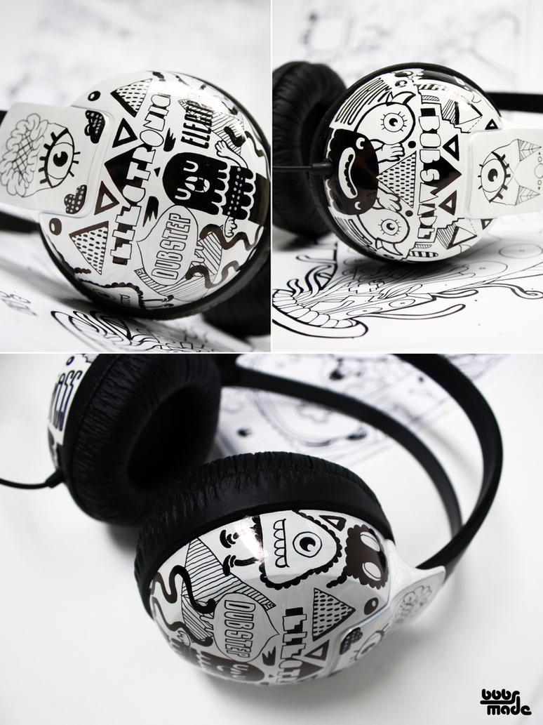 Electro headphones by Bobsmade