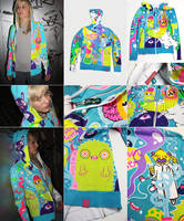 NEON hoodie by Bobsmade