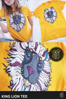 KING LION tee by Bobsmade