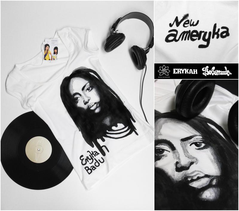 Erykah Badu Shirt by Bobsmade