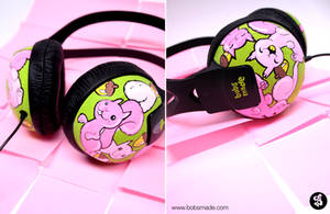 Squirrels Headphones by Bobsmade